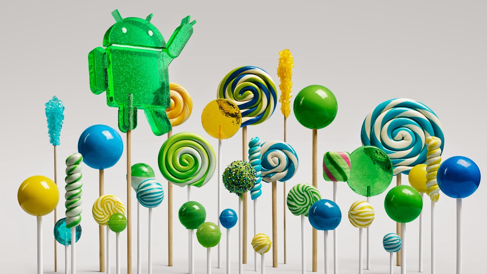 Lollipop is made for a world
