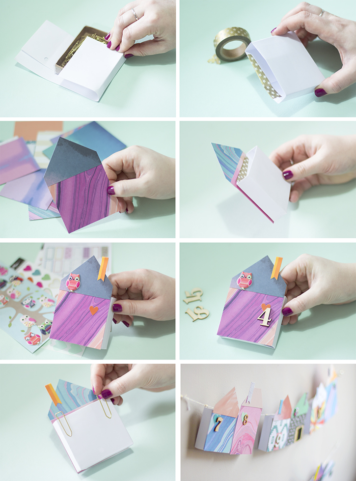 Live it . Love it . Make it.: Make it: Paper Houses Advent ...