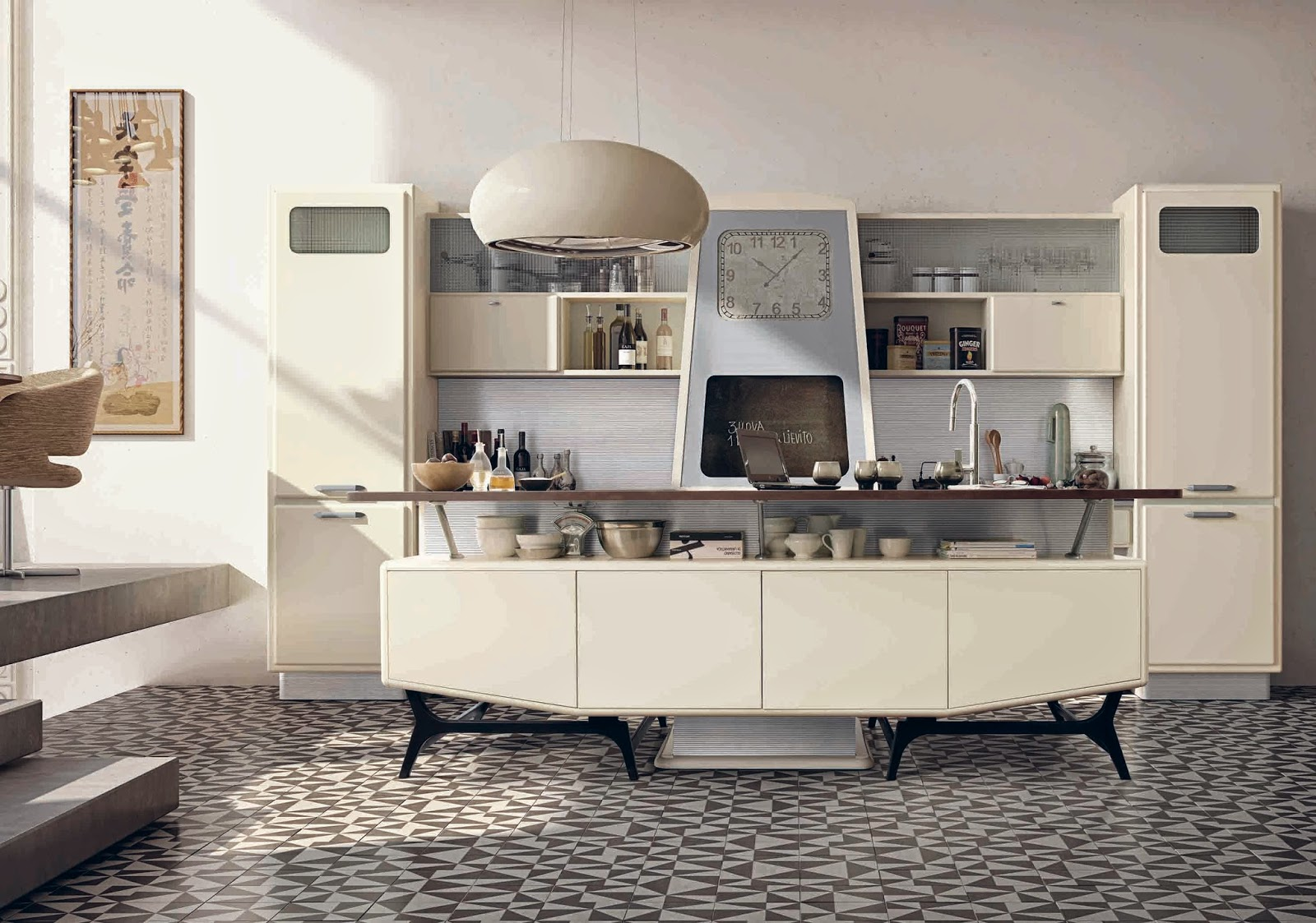 Best Cucina Americana Anni 50 Contemporary - bakeroffroad.us ...