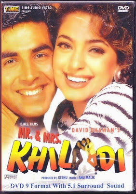 Mr & Mrs Khiladi 1997 Hindi WEB HDRip 480p 350mb