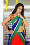 Santoshi sharma half saree pics-thumbnail-7