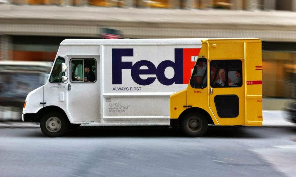 FedEx and DHL ad war