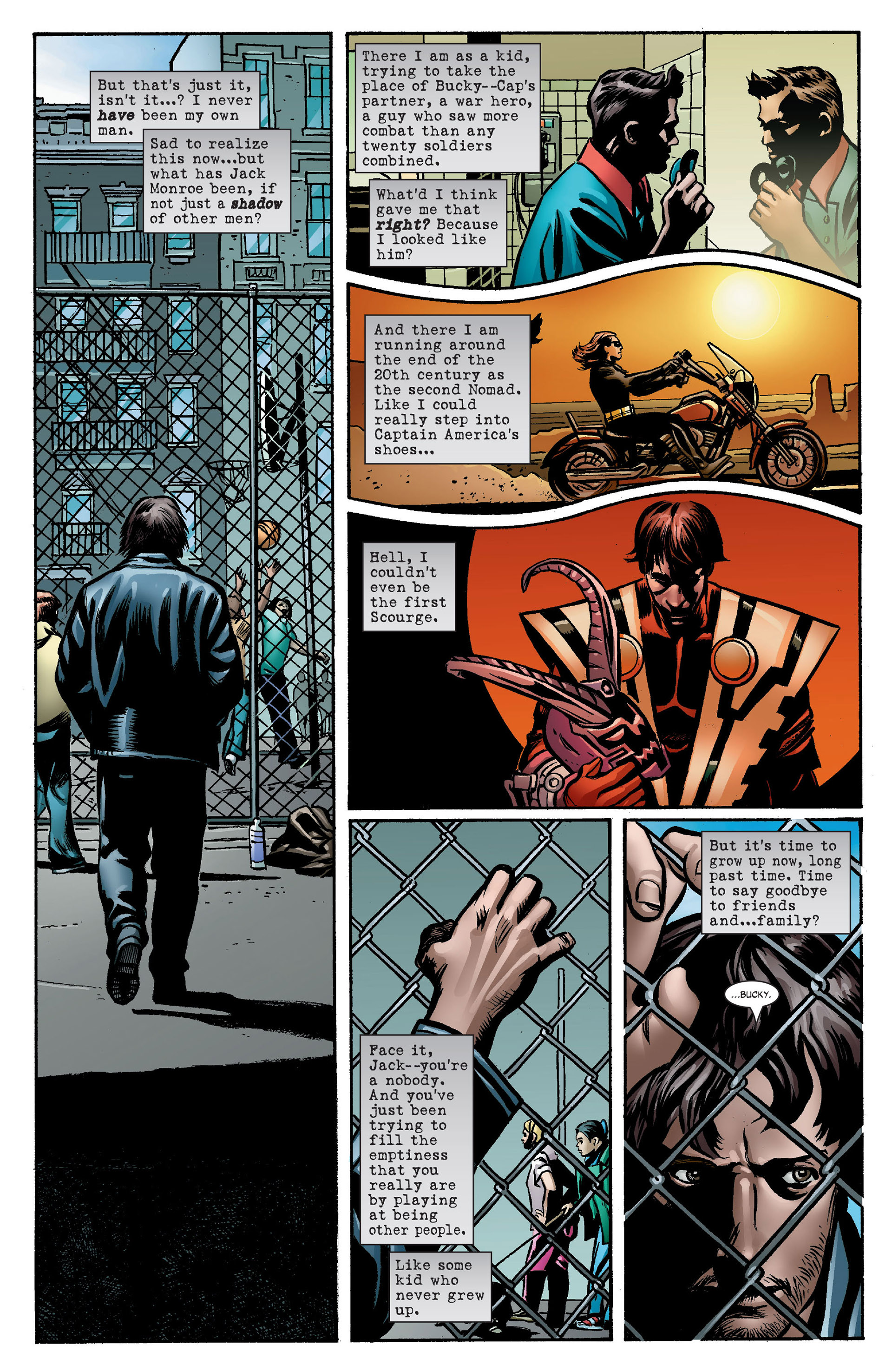 Captain America (2005) Issue #7 #7 - English 8