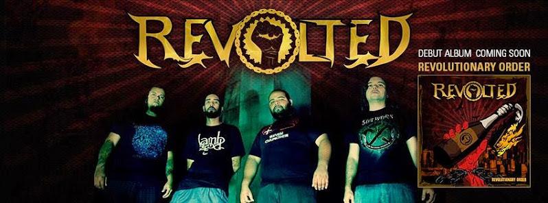 Entrevista com uma das revelações da nova onda Modern Thrash Metal, Revolted!