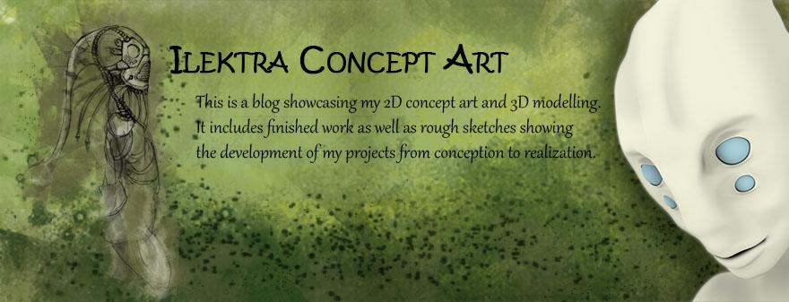 Ilektra  Concept Art
