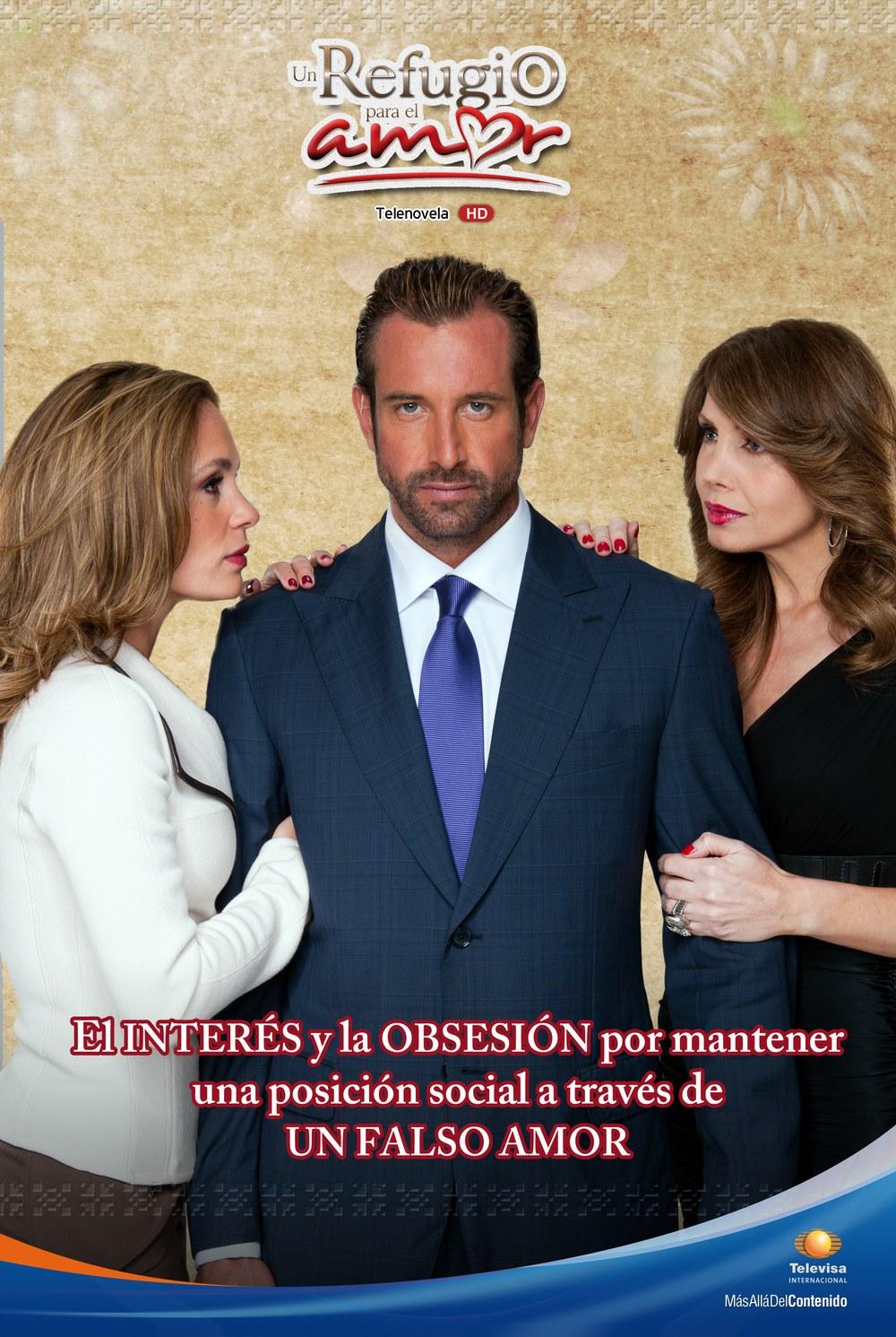 Un refugio para el amor ~ Posters de telenovelas
