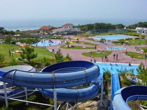 Peniche aquapark park wodny Portugalia