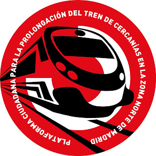 Logotipo Plataforma ciudadana para la prolongación del tren de cercanías en la zona norte de Madrid