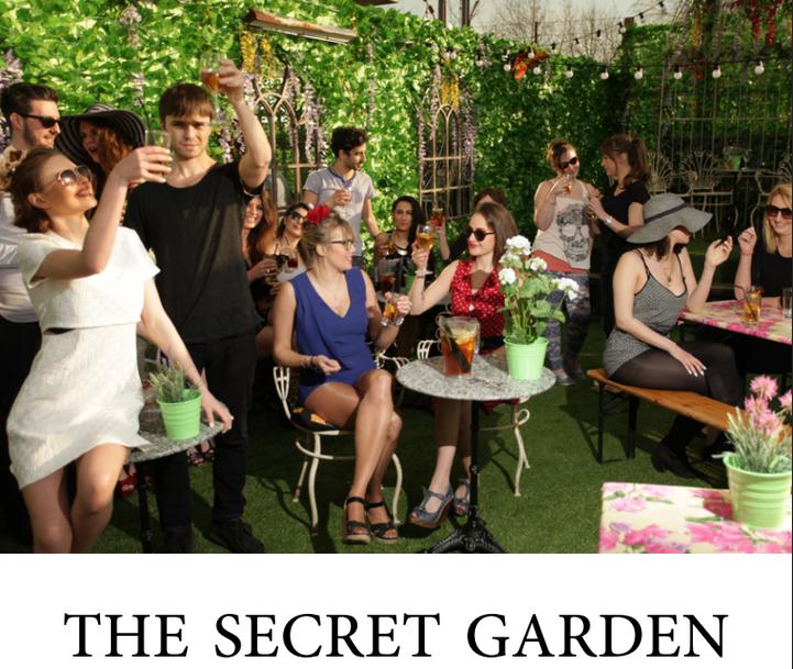 Proud Camden's NEW Secret Garden Bar (Review)