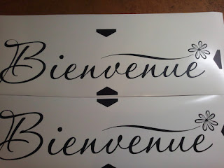 Welcome Bienvenue Wall Decal