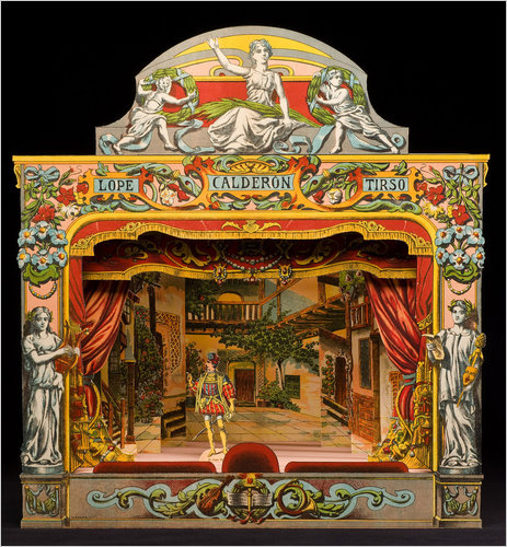 ekduncan my fanciful muse spanish paper theater images