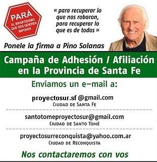 CAMPAÑA DE ADHESIÓN / AFILIACIÓN