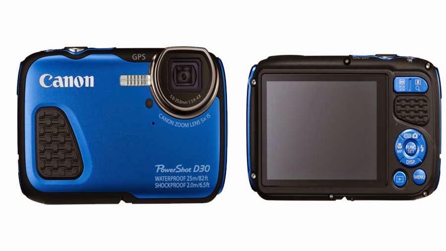 Foto Canon PowerShot D30 Kamera Tahan Banting Terbaru 2014