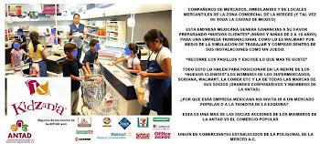 UNIÓN DE COMERCIANTES ESTABLECIDOS DE LA POLIGONAL DE LA MERCED A.C.