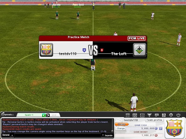 Korean Online Soccer Management Game - FC Manager Hits English shore!