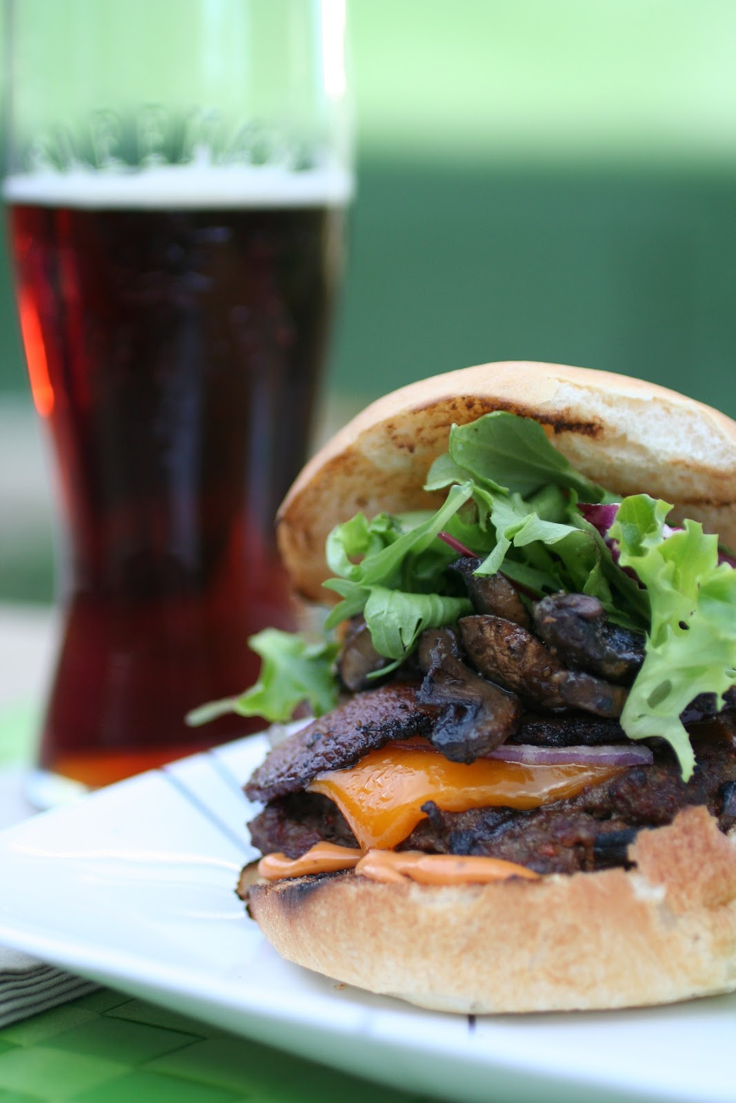 Meal Planning 101: Double-Bacon Mushroom Burgers