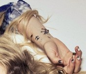 Kesha's Tattoos