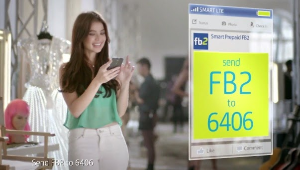 Smart 2 Pesos Unlimited Facebook UNLI FB2 Add On Promo