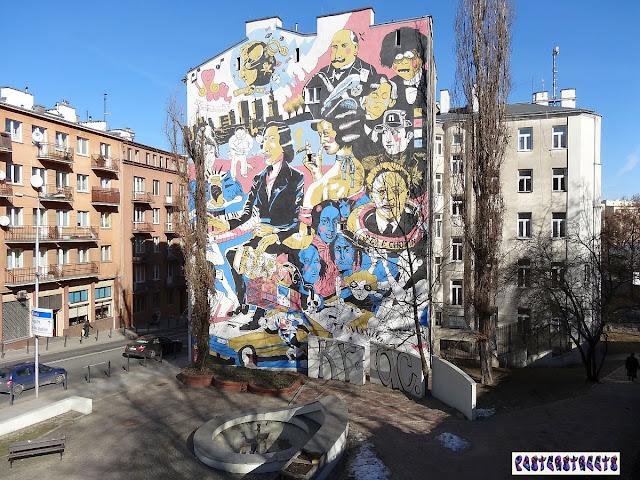 Mural chopinowski na Tamce