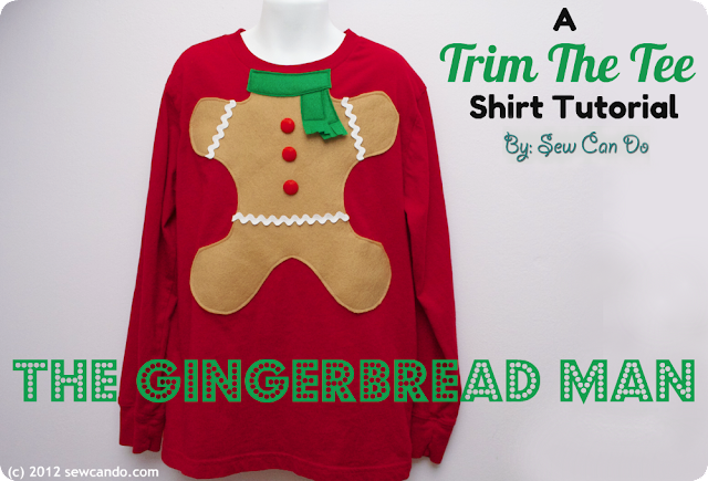 photo SewCanDo Gingerbread Man Shirt