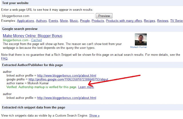 display authorship profile picture in search engine results with rich snippets tool Hfeed Warning: At Least One Field Must Be Set For HatomFeed How To Fix