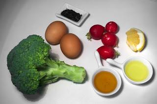 Ensalada de brócoli - ingredientes