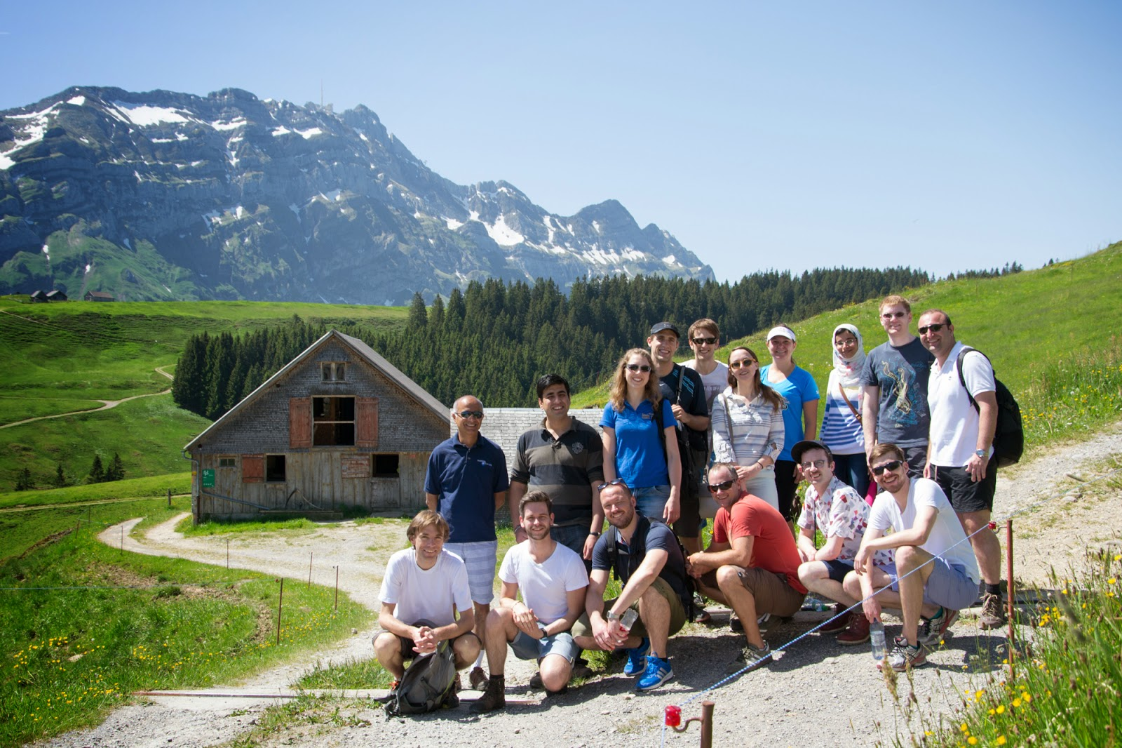 Group at Scheidegg
