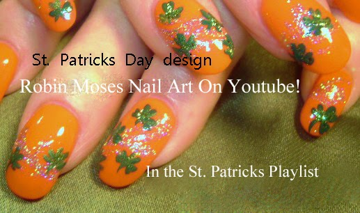 Nail art st patricks day nails