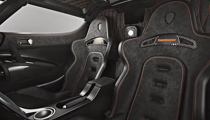 Koenigsegg: One - Butacas competición