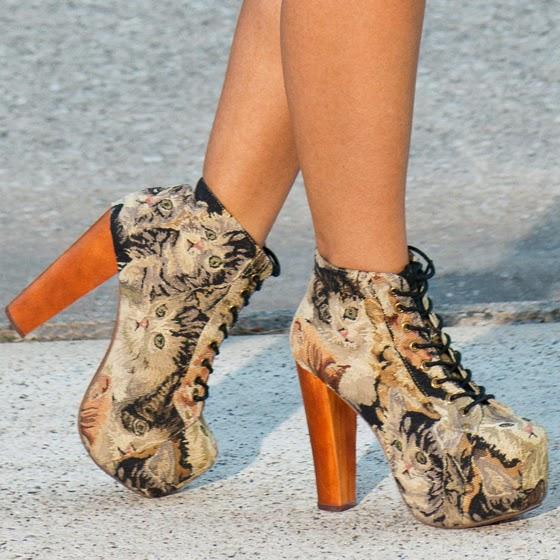 Diseños de zapatos para gorditas