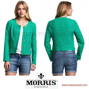 Crown Princess Victoria Style MORRIS Jackie Jacket