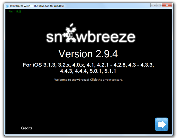Download Sn0wBreeze Tool
