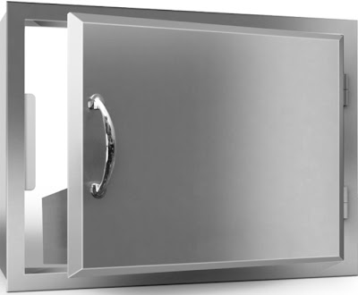 RCS Stainless Steel Door
