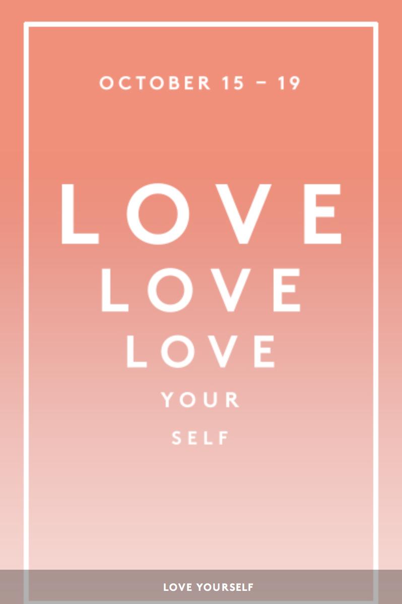 Love Yourself Beautiful Love Yourself Gift Bag