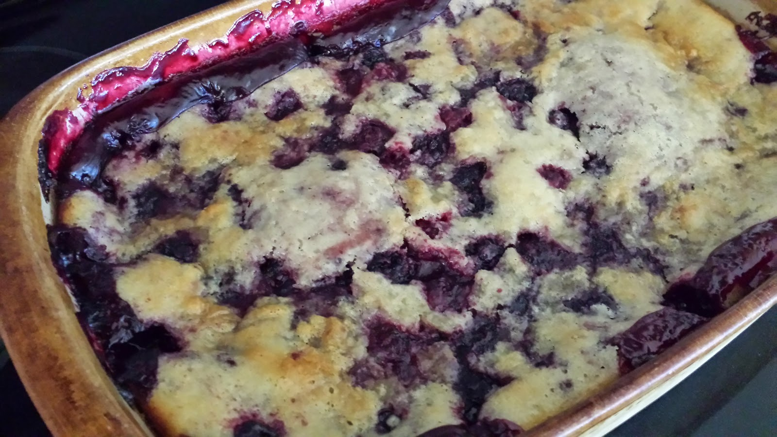 My Patchwork Quilt: BLACKBERRY COBBLER