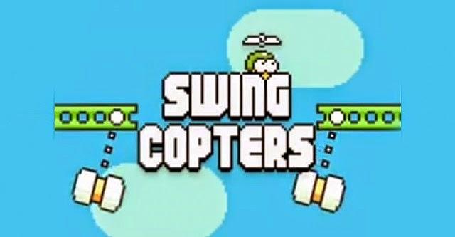 Swing Copters đã dễ chơi hơn