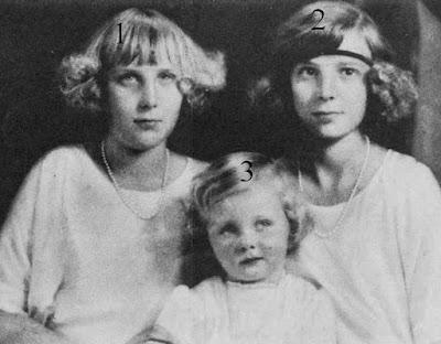 Beatriz et María Cristina de Borbón y Battenberg, Iris Mountbatten