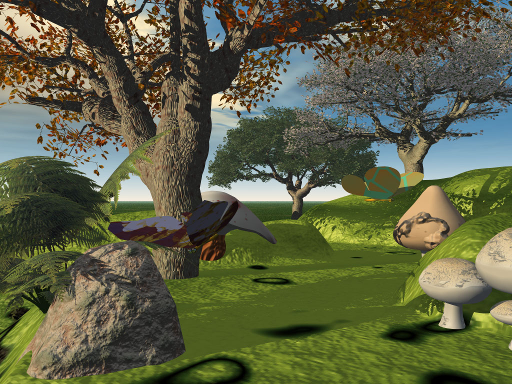 3d wallpaper trees - photo #26
