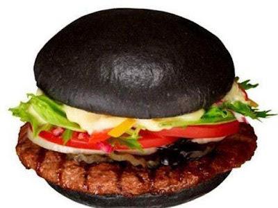 Hambúrguer-preto-burger-King-tinta de lula