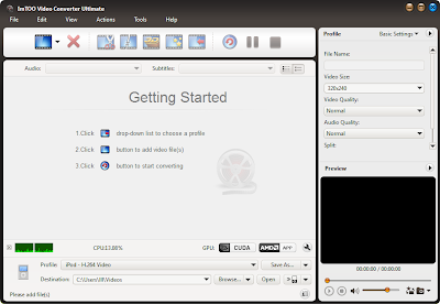 ImTOO Video Converter Ultimate v 7.7.2.20130514