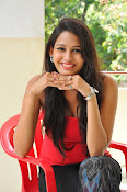 Swetha Jadhav glam pics in red top-thumbnail-3