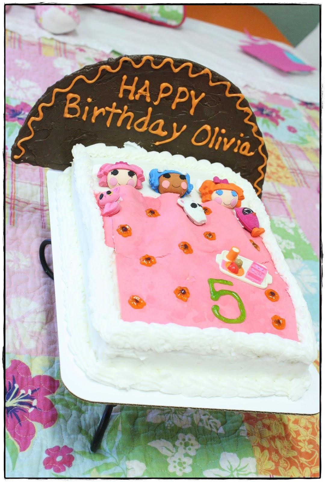 Wordless Wednesday Faux Sleepover Birthday Cake