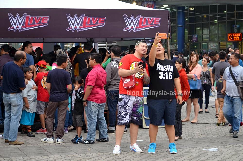 WWE Malaysia Fans