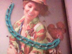 MINHA PRIMEIRA PULSEIRA DE CROCHE - MY FIRST CROCHET BRACELET !