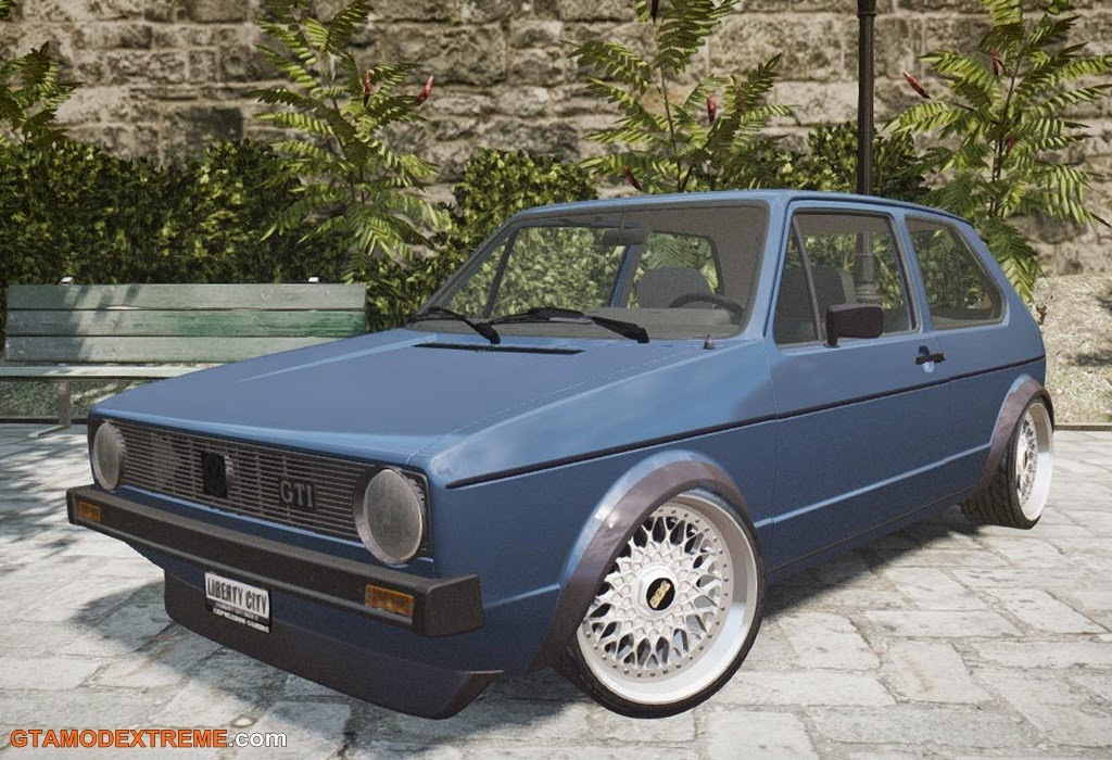 Download carro Volkswagen Golf GTI MK1 Edit Para GTA IV