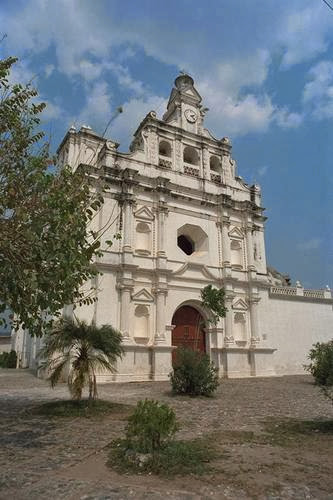 Vista exterior Iglesia de Metapán