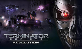 Screenshots of the Terminator genisys: Revolution for Android tablet, phone.