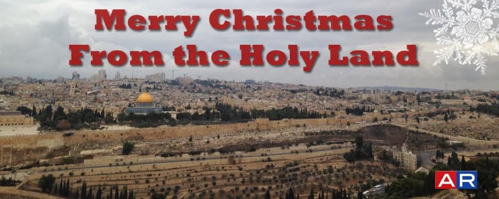 merry christmas in israel
