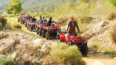 جولات سياحية في انطاليا تركيا, سفاري دفع رباعي