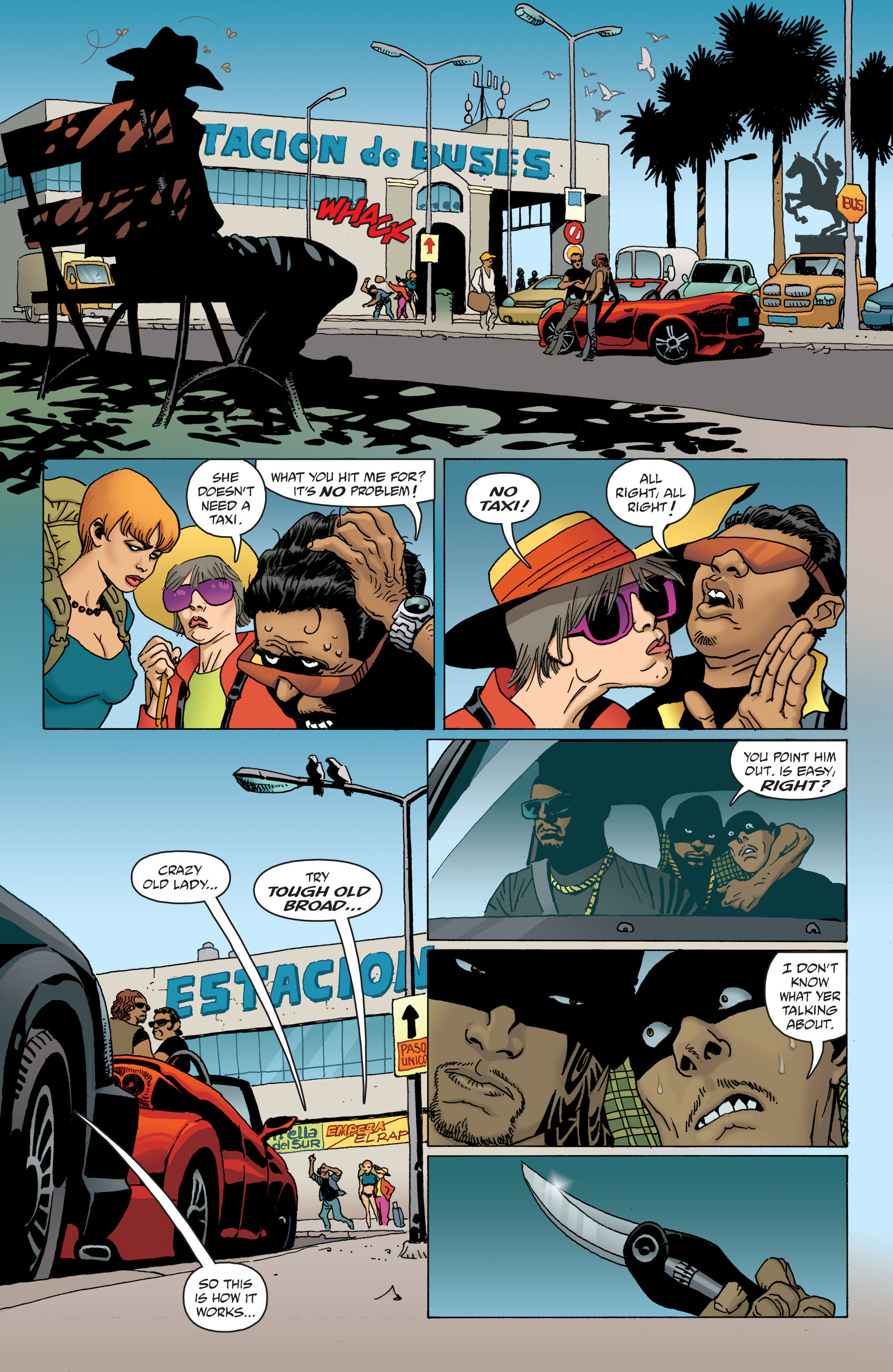 100 Bullets: Brother Lono Full Page 24